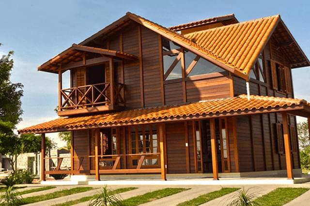 3 Vantagens de uma Casa com Estrutura de Madeira