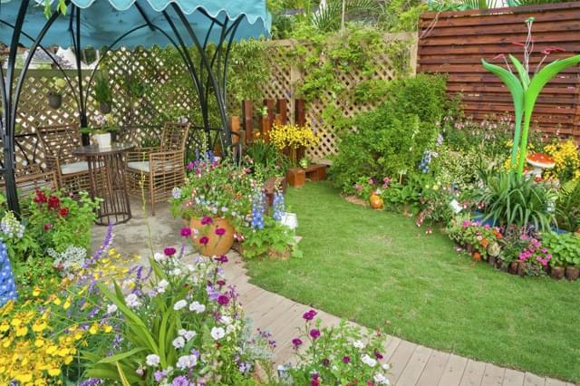 Crie seu jardim