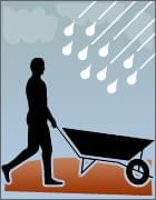 Obras no período de chuva