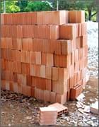Proteção para tijolos à vista