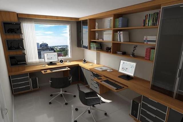 Faça seu escritório em casa