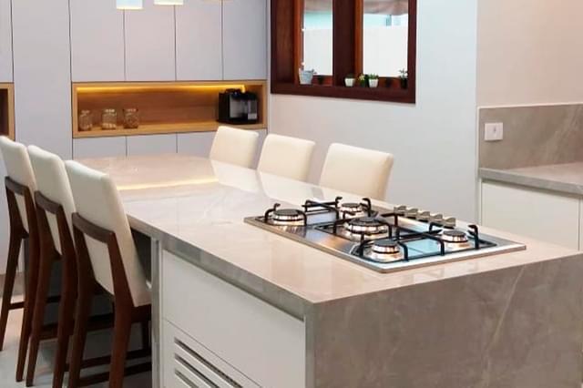 3 materiais que são tendência para bancada de cozinha