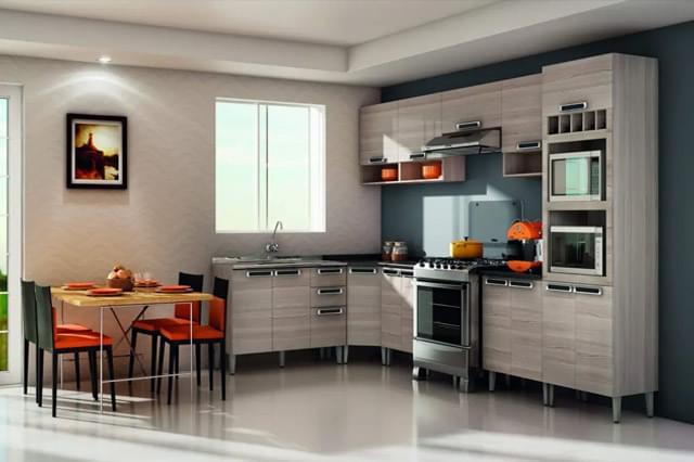 Escolha o modelo de cozinha ideal para sua casa