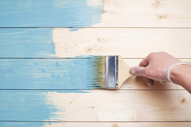 Pintura de madeira