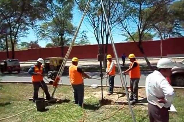 Sondagem na Construção Civil (SPT)